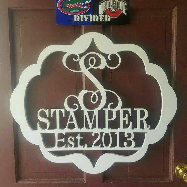 Stamper Established Sign