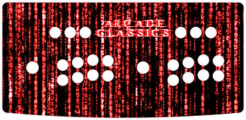 Red Source Code 2-Player Control Panel