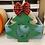 Thumbnail: Painted Christmas Tree Monogram Door Hanger