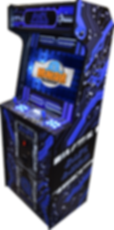Space-Saving Arcade Cabinet