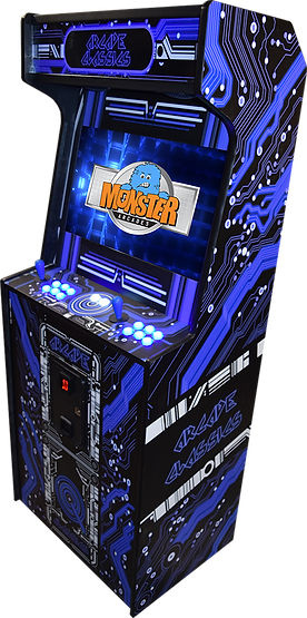 Space-Saving Arcade Cabinet