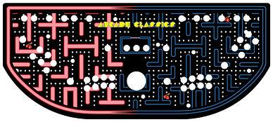 Red Vs. Blue Maze Control Panel Art