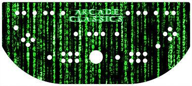 Green Source Code Control Panel Art