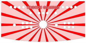 Red Sunbeam 2-Player Control Panel