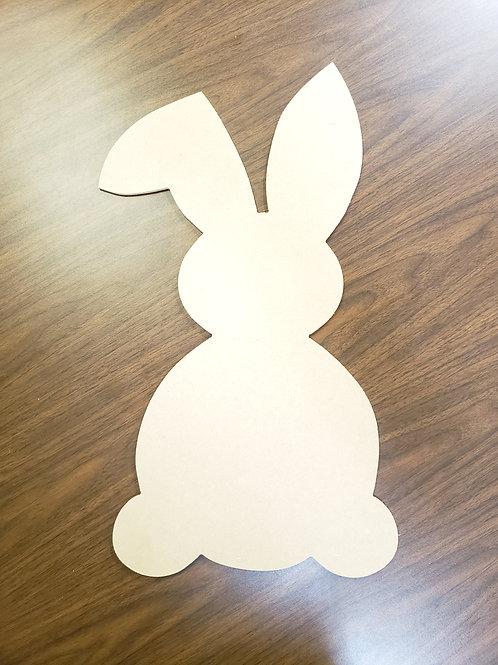 Easter Bunny Door Hanger Blank Cut Out