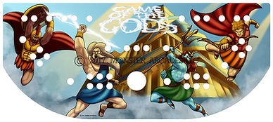Game of the Gods Control Panel Art