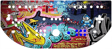 Graffiti Control Panel Art