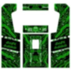 Green Grid Arcade Art