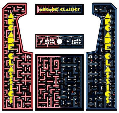 Maze Red Vs. Blue Arcade