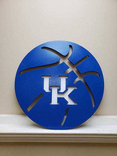 UK Kentucky Basketball Door Hanger