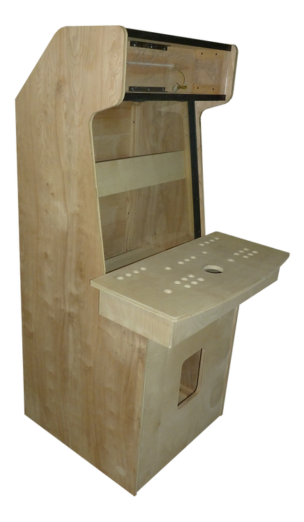"32"" 2 Player Upright Birch DIY Kit"