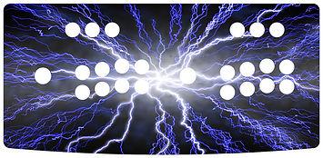 Blue Lightning 2-Player Control Panel