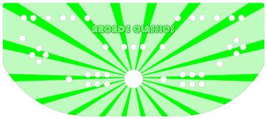 Green Sunbeam Control Panel Art