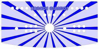 Blue Sunbeam 2-Player Control Panel
