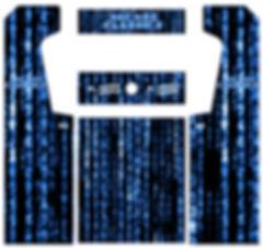 Blue Source Code Arcade Art