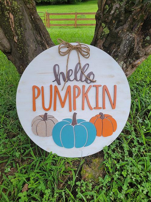 Craft Kit of the Month - Hello Pumpkin