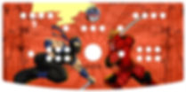Ninja Samuri Control Panel