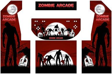 Zombie Arcade Art