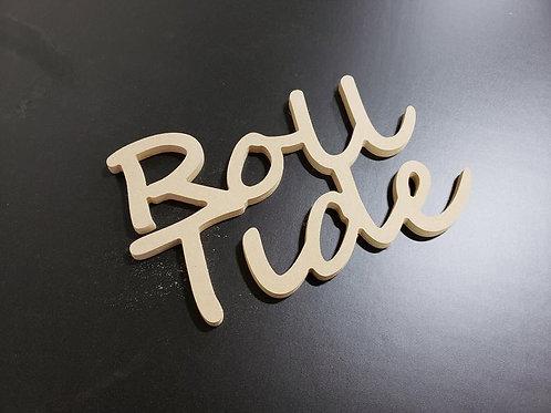 Roll Tide Wooden Word Sign Alabama Wreath