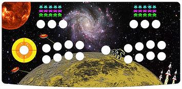 Retro Space 2-Player Control Panel