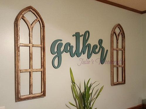 Large gather