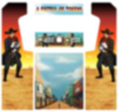 Gunfighter Arcade Art