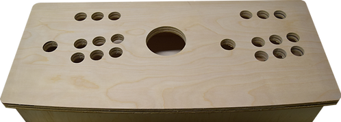 Birch Small Trackball Panel Kit