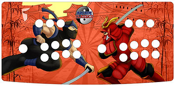 Ninja Samurai 2-Player Control Panel