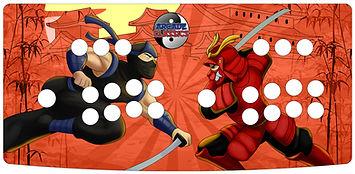 Ninja Samurai 2-Player Control Panel