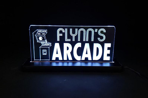 Custom Arcade Game Room LED neon acrylic sign