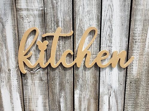 Mickey Kitchen Sign