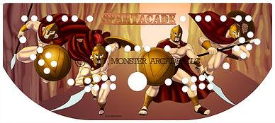 Spartacade Control Panel Art