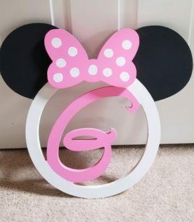 pink white and black Minnie G