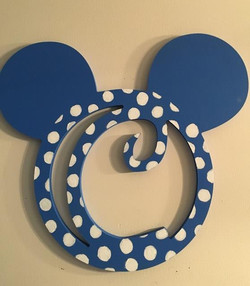 polka dot Mickey C