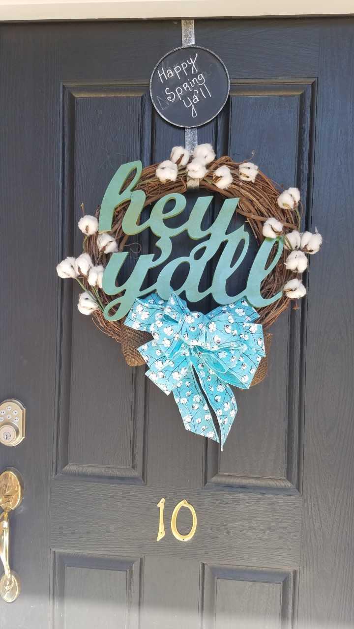 hey yall wreath