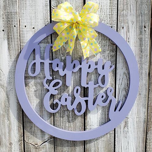 Happy Easter Door Hanger