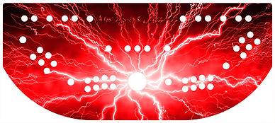 Red Lightning Control Panel Art