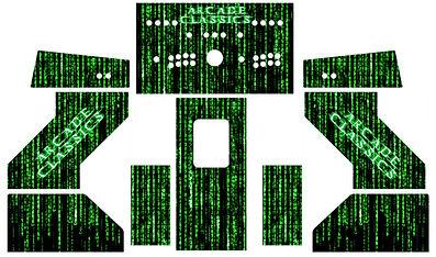 Green Source Code Arcade Art