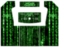 Green Source Code 2-Player Upright Arcade Art