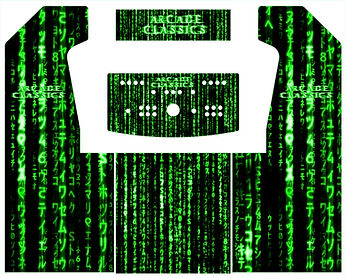 Green Source Code 2-Player Upright Arcade Art