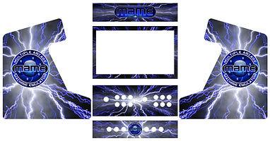 Lightning Arcade Art