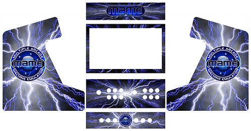 Art Package for Bartop Arcade Kit