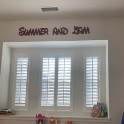Summer and Liam Disney font