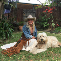 Hailey & Sadie with Buffalo Girl clothing