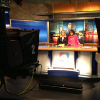 TV Anchoring the night news