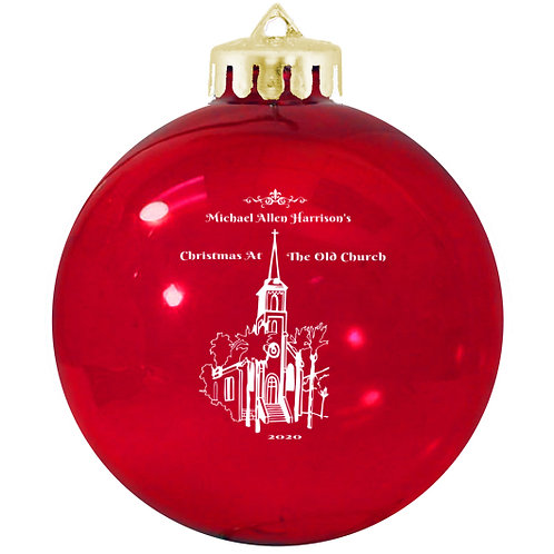 CHRISTMAS AT THE OLD CHURCH 30th Anniversary Limited Edtion Ornament