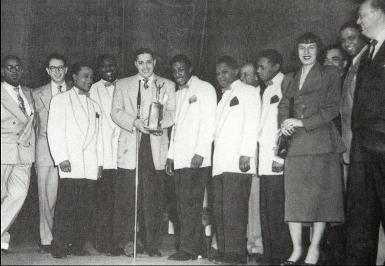 Sonny Til And The Orioles, Deborah Chessler receiving an award