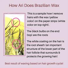 How Ari Does Brazilian Wax