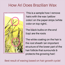How Ari Does Brazilian Wax