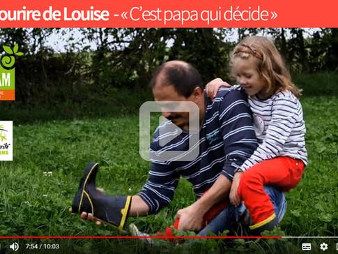 Le Sourire de Louise»C'est papa qui décide»